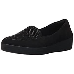 FitFlop Women's Sparkly Sneakerloafer Slip-on Loafer