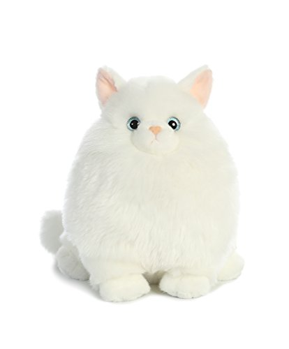 Persian Kitty - Aurora World Fat Cats Marshmallow Persian Plush