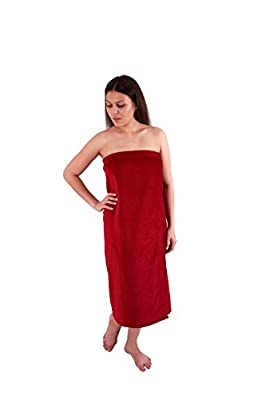 Long Size Velour (Extra Soft) Women`s Body Wrap, Shower & Bath, Terry Spa Towel, Made in Turkey …
