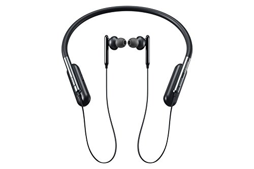 ( New U Flex compatible Bluetooth Wireless In-ear Flexible Headphones with Microphone Replacement for Samsung EO-BG950 (Black) )