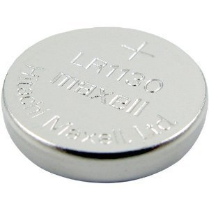 LR1130 (189) Alkaline Button Cell Batteries By maxell