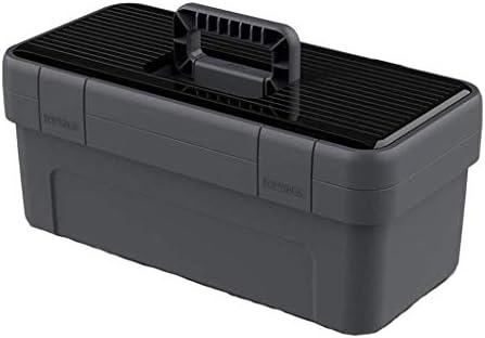 家庭用ツールボックス収納ボックス家庭用ポータブルプラスチック車ハードウェア電気技師ストレージ修理ボックスツールボックス
