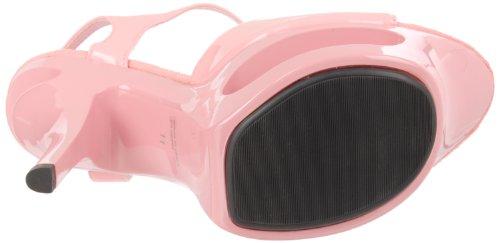 Envy-11 Cut-Out 6 Heel Platform Sandal: Pink Patent 8 Pink Pat