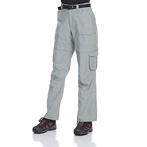 EMS Women's Camp Cargo Zip-Off Pants Neutral Gry ()