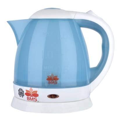 BMS Lifestyle BMS LIYESTYLE Electric Kettle/Kettle/Tea Kettle/Tea and Coffee Maker/Milk Boiler/Water Boiler/Tea Boiler/Coffee Boiler/Water Heater/Electric Kettle (1.5 L, Blue)