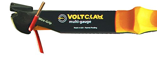VoltClaw Multi-Gauge nonconductive wire electrical pliers
