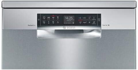 Bosch Serie 6 SMS68TI06E lavavajilla Independiente 14 cubiertos A ...