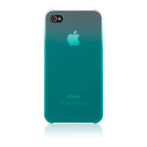 Blacktop Essential 016 Case for Apple iPhone 4S (Fountain Blue) (Iphone 4 Belkin Essential)