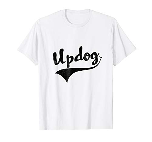 Updog What's Up Dawg? Sporty Style Funny Tee ()