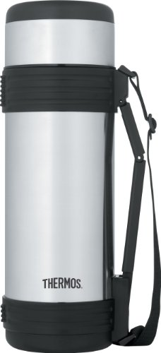 Thermos 34 Ounce Vacuum Insulated Stainless Steel Beverag...