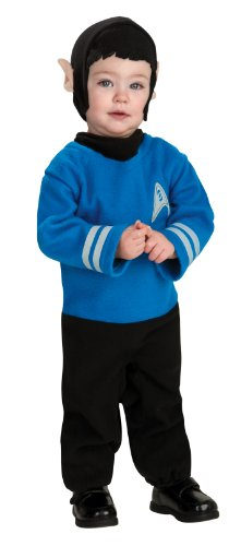 Star Trek Romper And Headpiece Spock, Spock Print, Newborn (Baby Spock Costume)
