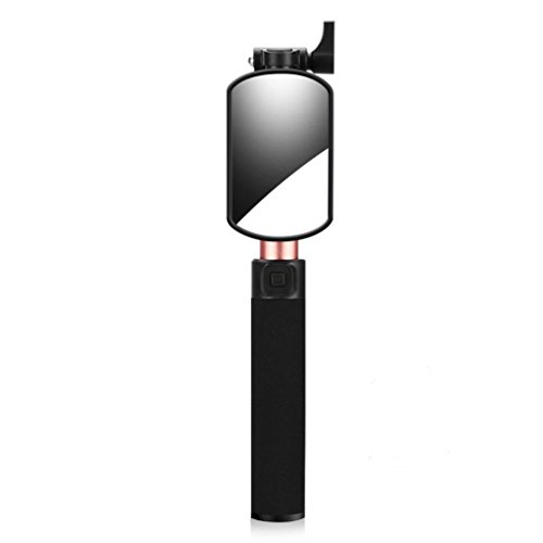 outlet Aluminum Alloy Selfie Stick, USB Extendable Monopod with