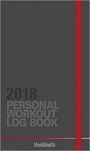 amazon in buy men s health workout log 2018 pocket planner book