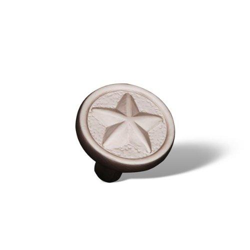 [Rk International - Pewter Rki Rugged Texas Star Knob (Rkick209P)] (Rugged Texas Star Knob)