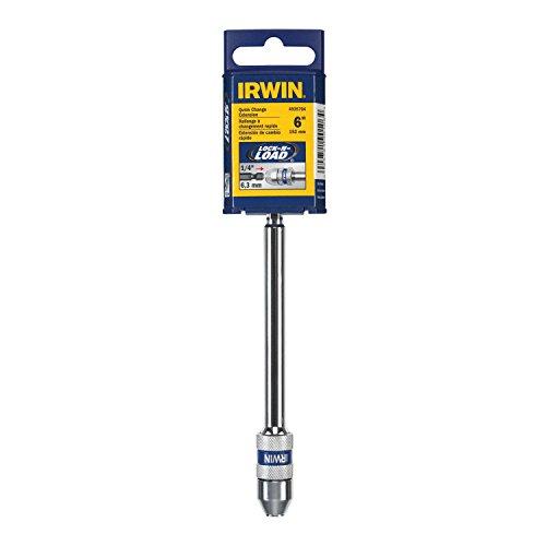 IRWIN Tools 6-Inch SPEEDBOR Lock N' Load Quick Change Bit Holder (4935704)