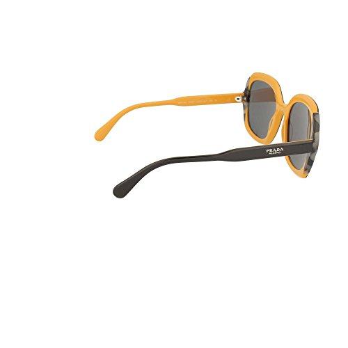 de ETIQUETTE BLACK GREY PR Sol mujer Prada 16US GREY Gafas HAVANA 5q1wUfnxg