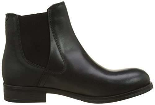 Fly London Kvinners Alls076fly Chelsea Boot Svart Teppe / Cupido