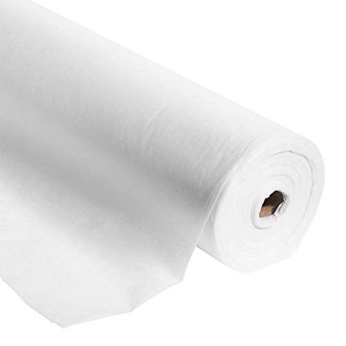 White Gossamer Decorating Material, 59 Inches x 100 Yards Long, Decorating Prom, Homecoming, Wedding Ceilings and ()