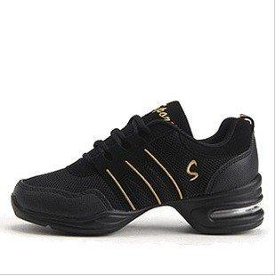 d48e98112d6 Chaussures de Danse Pour Les Femmes Jazz Basket SALLE de BAL (noir doré