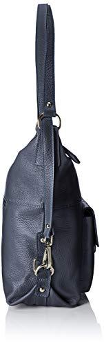 De Azul Shoppers dark Bolsos Cbc3301tar Borse Blue Y Chicca Hombro Mujer 6xqpAwECX