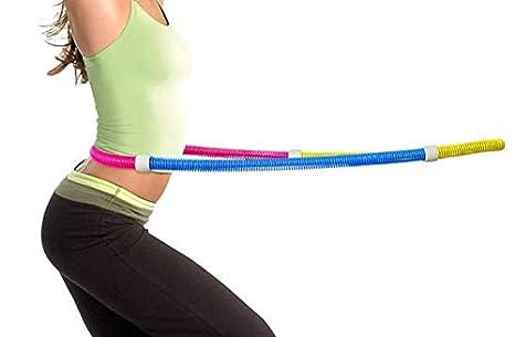 KIK SILUK/_ Reifen Hula Hoop Fitnessreifen Massage Body Hula Hoop Hup Hop Reifen Fitness Gymnastik Training