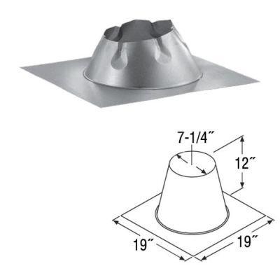 Duratech Flat - Dura-Tech Flat Roof Flashing - 5