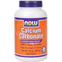 Cheap Now Foods: Calcium Carbonate Powder Supports Bone Health, 12 oz (2 pack)