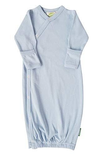 Parade Organics Organic Baby Essential Kimono Gown Pale Blue Newborn