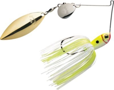 Strike King Premier Plus Spinnerbaits - Colorado/Willow (Chartreuse/White, - Perfect Skirts King Strike