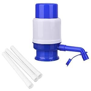 TankerStreet Bomba Dispensador de Agua Bomba de Manual Universal Sin BPA Compatible con Agua Embotellada Garrafas Botellas 2.5L/3L/5L/6L/8L/10L Usar en Casa Oficina Hospital Escuela Fábrica