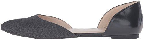 Nine Ballet black Starship Grey Nubuck West Flat Dark wq71wAt