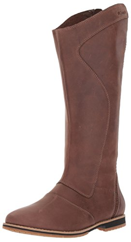 Columbia Women's TWENTYTHIRD AVE Waterproof Tall Boot Uniform Dress Shoe, Tobacco, Oxford Tan, 8.5 B US by Columbia