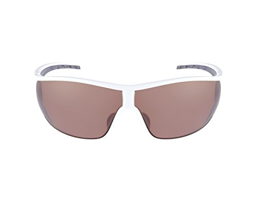 Adidas A191 6052 White and Grey Tycane L Wrap Sunglasses Polarised Cycling, - Cycling Sunglasses Adidas