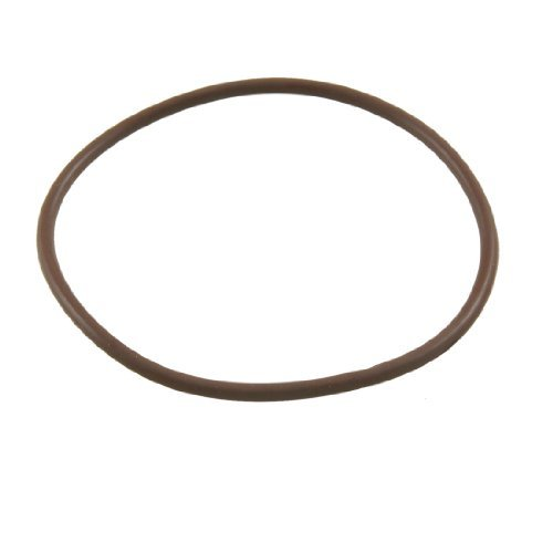DealMux 70mm x 3mm Fluorine Rubber O Ring Oil Seal Gaskets Coffee Color