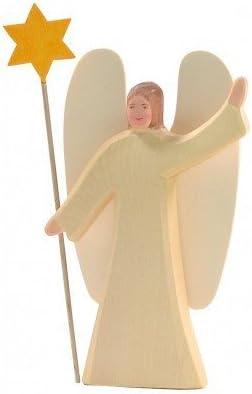 Ostheimer 4000 - Engel mit Stern, 2-teilig, Höhe 23,5cm