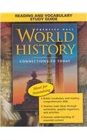 WORLD HISTORY: CONNECTIONS TO TODAY REVISED SURVEY ENGLISH READING AND  VOCABULARY STUDY GUIDE 2005C