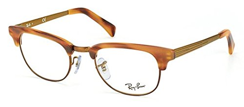 Ray-Ban RX5294 Clubmaster Eyeglasses-5429 - Tortoise Prescription Ban Clubmaster Ray
