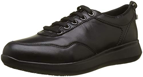 nero Cordones Nappa Mujer 000 Zapatos Para Derby Stonefly De Flut Negro 9 wvqOnFg