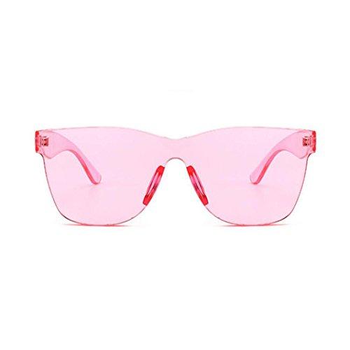 lunettes Plein Candy Lunettes Soleil Sports Pas Des Femmes Unisexe Unisexe Intégrées Pour colorées Hommes UV400 Mode de Rose de Cher Lunettes Solike Air Lunettes Voyage FqBRZwRxdn