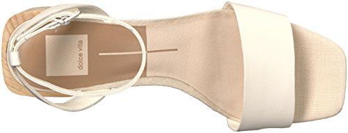 Women's Sandal Dolce Heeled Zarita Off Leather White Vita 5ATqTSR