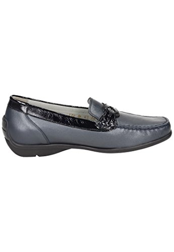 5 Waldläufer Damen 940737 Océan Harriet Slipper Blau vXwO8rXqC
