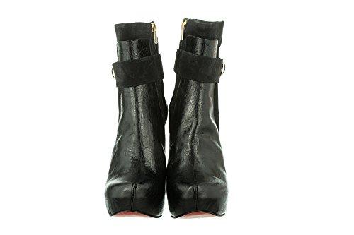 Gianrico Sydne Leather Gents women Black Mori qd7BPq