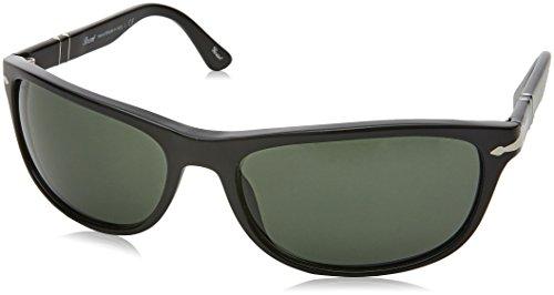 Sonnenbrille Black Green Persol PO3156S Negro UqdqfFw
