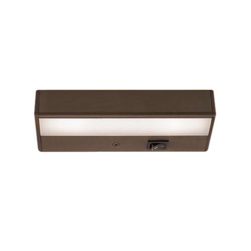 (WAC Lighting BA-LED2-BB LED Light Bar, 6-Inch - 2-Inch  by 1W 2900K)