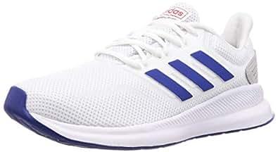 adidas Runfalcon Men's Road Running Shoes, White, 7.5 UK (41 1/3 EU)