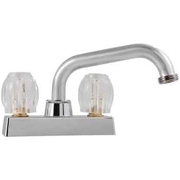 LDR 011 5200 Double Handle Laundry Faucet, Chrome - Double Handle ...