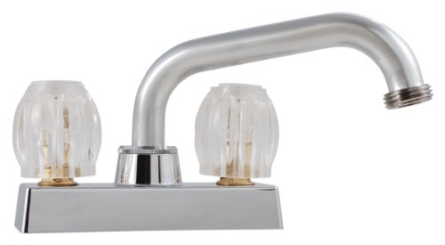 LDR 013 5200CP Laundry Faucet, Double Handle, Chrome by LDR Industries
