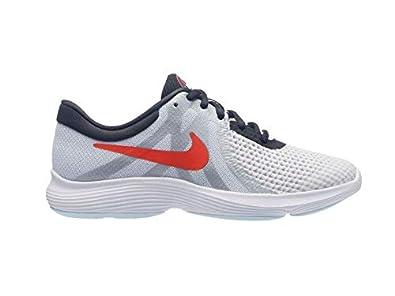 Nike Unisex-Kinder Revolution 4 Sd (Gs) Cross-Trainer Weiß ...