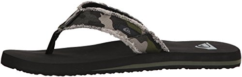 Pictures of Quiksilver Men's Monkey Abyss Three-Point Sandal 12 M US 5