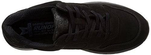 Shoe Mephisto Cross Women's Bucksoft Walking Black fashion twnqwTA7xr